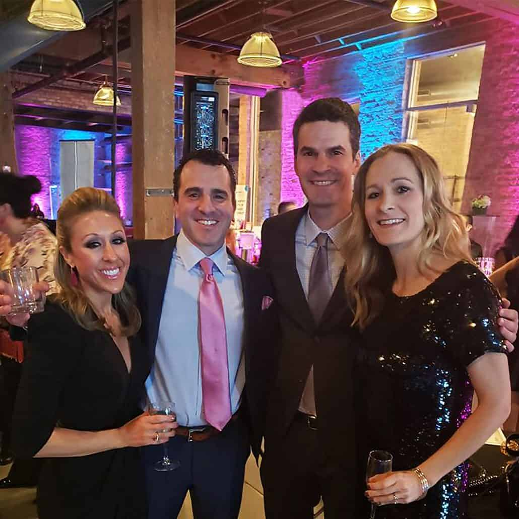 Liventus President, Dan Levin, and wife at Change for Charley Fundraiser