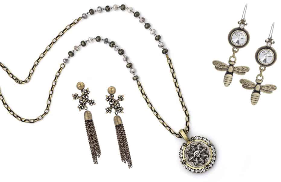 French Kande Necklace and Earrings