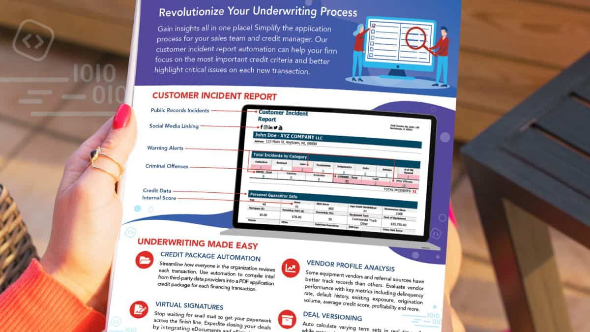 Underwriting Flyer