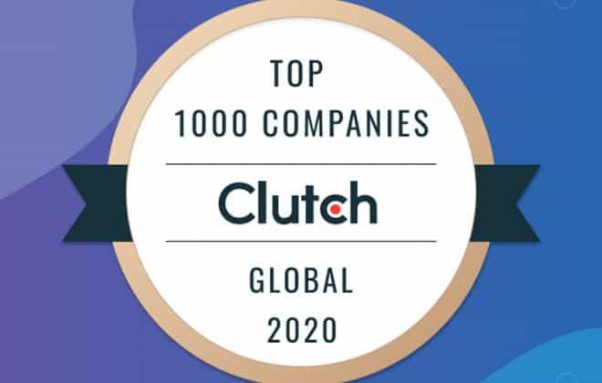 Global 2020 Clutch Award Logo