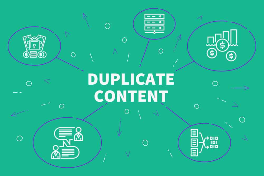 Conceptual,Business,Illustration,With,The,Words,Duplicate,Content